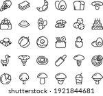 food line icon set   watermelon ... | Shutterstock .eps vector #1921844681