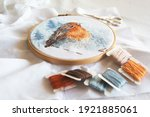 Cross Stitch Process In The...