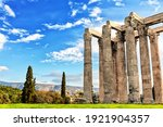 The Temple Of Olympian Zeus At...