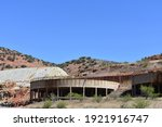 A Large Mining Relics Near The...