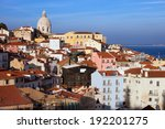 sweeping view over alfama... | Shutterstock . vector #192201275