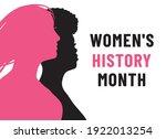 womens history month. women's...   Shutterstock .eps vector #1922013254
