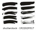 round sponge thin artist brush... | Shutterstock .eps vector #1922029517