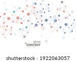 line human cell. medical shape...   Shutterstock .eps vector #1922063057