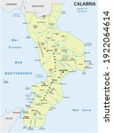 vector map of the southern... | Shutterstock .eps vector #1922064614