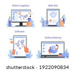 raw material supply online... | Shutterstock .eps vector #1922090834