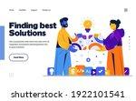 presentation slide template or... | Shutterstock .eps vector #1922101541