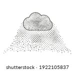 storage of a large amount of... | Shutterstock .eps vector #1922105837