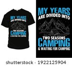 my years are divided into two...   Shutterstock .eps vector #1922125904
