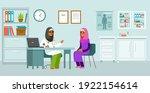 medicine concept with muslim...   Shutterstock .eps vector #1922154614