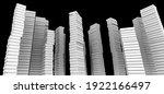3d illustration of a lot of... | Shutterstock . vector #1922166497
