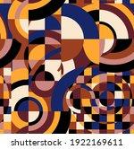geomatric design seamless... | Shutterstock . vector #1922169611