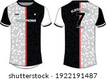 geometric sports jersey t shirt ...   Shutterstock .eps vector #1922191487