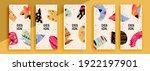trendy editable template for... | Shutterstock .eps vector #1922197901