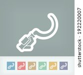 sickle icon | Shutterstock .eps vector #192220007