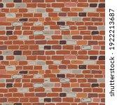 realistic masonry seamless...   Shutterstock .eps vector #1922213687