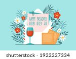 passover holiday concept with... | Shutterstock .eps vector #1922227334