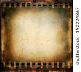 vintage film background. grunge ... | Shutterstock . vector #192224867