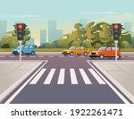 road transport driving along... | Shutterstock .eps vector #1922261471
