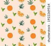 tropical summer seamless... | Shutterstock .eps vector #1922269514