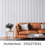 Mockup Wall In Living Room...