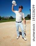 Golfer Golf Man Having Meltdow...