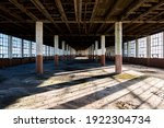Abandoned Factory With Large...