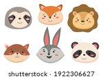 cartoon avatar of the cute wild ...   Shutterstock .eps vector #1922306627