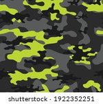 camouflage black vector... | Shutterstock .eps vector #1922352251