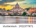 St.peter's Basilica And Ponte...