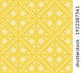 folk floral elements seamless... | Shutterstock .eps vector #1922387561