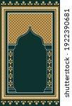 muslim prayer rug. islamic... | Shutterstock .eps vector #1922390681