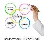 operational consulting | Shutterstock . vector #192240731
