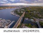 Aurora Bridge Above Seattle's...