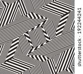 abstract broken striped... | Shutterstock . vector #192244241
