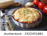 Tomato Vegetable Crumble With...