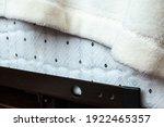 Up Close Corner Of A Quilt...