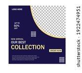 social media post design... | Shutterstock .eps vector #1922474951