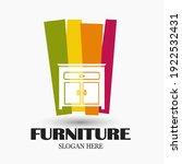 modern furniture logo graphic... | Shutterstock .eps vector #1922532431
