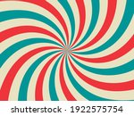 retro background with curved ... | Shutterstock .eps vector #1922575754