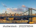 Manhattan Bridge With Manhattan ...