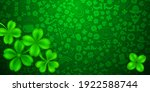 background on st. patrick's day ... | Shutterstock .eps vector #1922588744