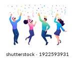 isometry web design template.... | Shutterstock .eps vector #1922593931