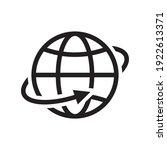 internet go to website symbol...   Shutterstock .eps vector #1922613371