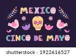 cinco de mayo banner with...   Shutterstock .eps vector #1922616527