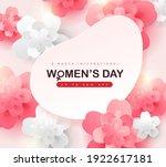 international women's day sale... | Shutterstock .eps vector #1922617181