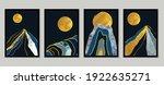 gold mountain background vector....   Shutterstock .eps vector #1922635271
