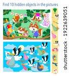 find 10 hidden objects in the...   Shutterstock .eps vector #1922639051