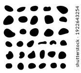 random blob organic pattern... | Shutterstock .eps vector #1922643254