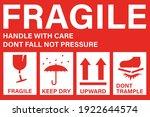 illustration vector  fragile... | Shutterstock .eps vector #1922644574